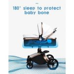 3 in 1 Pram Set Best Travel System Pushchair with Luxury Leather (15)