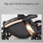 3 in 1 Pram Set Best Travel System Pushchair with Luxury Leather (6)