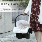 3 in 1 Pram Set Best Travel System Pushchair with Luxury Leather (8)
