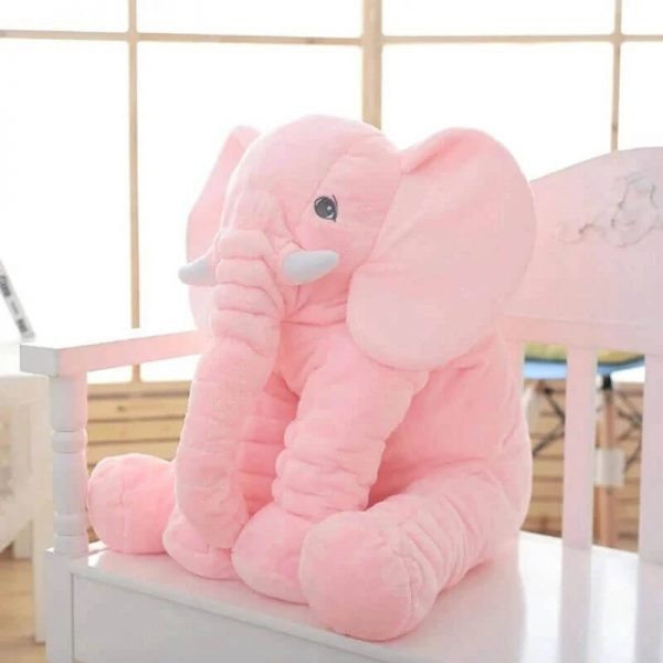 Large Elephant Pillow for Baby