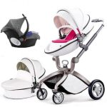 Best 3 in 1 Travel System Pram Hot Mom Pushchair with Car Seat (12)