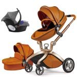 Best 3 in 1 Travel System Pram Hot Mom Pushchair with Car Seat (14)