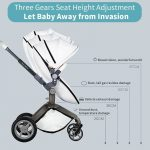 Best 3 in 1 Travel System Pram Hot Mom Pushchair with Car Seat (18)