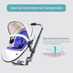 Best 3 in 1 Travel System Pram Hot Mom Pushchair with Car Seat (20)