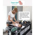 Best Travel Cot with Bassinet Portable Baby Bed (10)