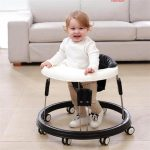 Adjustable Baby Walker for Baby Boy and Girl Sit in Baby Walker with Wheels (2)