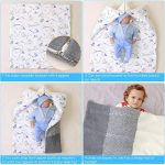 Newborn Baby Sleeping Bag Swaddle Blankets for 0-12 Months (3)