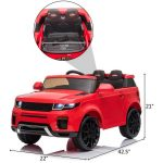 12V Kid Electric Ride on Car with Romote Control Jeep Ranger Over (11)