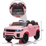 12V Kid Electric Ride on Car with Romote Control Jeep Ranger Over (13)
