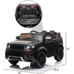 12V Kid Electric Ride on Car with Romote Control Jeep Ranger Over (8)