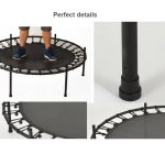 4.5 Ft Trampoline with Enclosure Kid Mini Trampoline for Indoor and Outdoor (2)