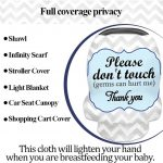 Multi-function Baby Car Seat Covers Breastfeeding Cover Nursing Scarf (2)