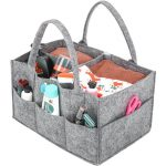 Baby Changing Bag Nursery Storage Baskets Organizer for Diapers (6)