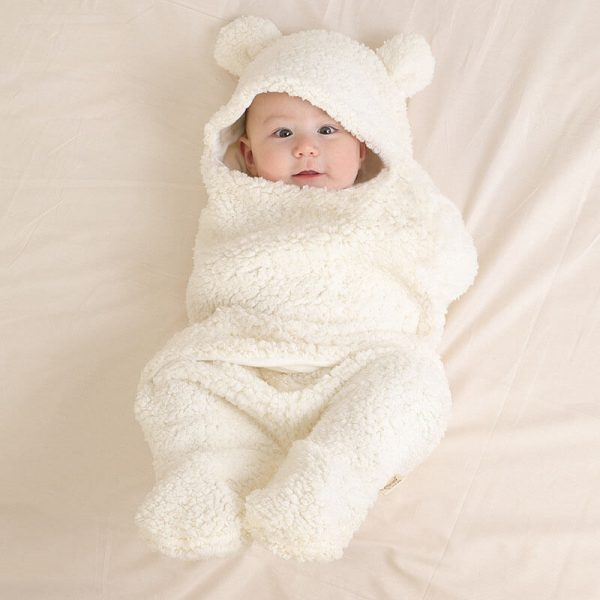 Cute Baby Swaddle Blanket for Girl and Boy