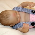 10 Mini Silicone Baby Tiny Reborn Doll Girl with Pink Clothes (4)