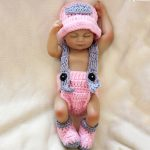 10 Mini Silicone Baby Tiny Reborn Doll Girl with Pink Clothes (6)