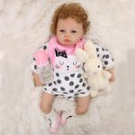 21 Inch Real Born Baby Dolls That Look Real with Toy (4)
