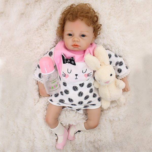 21 Inch Real Born Baby Dolls That Look Real with Toy