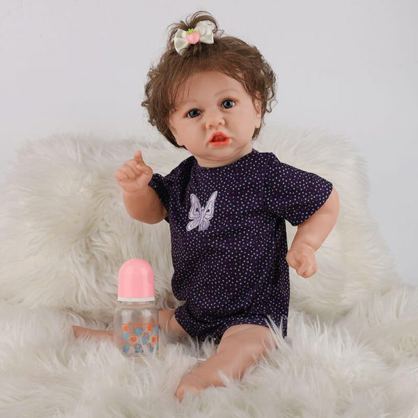 Life Looking Baby Doll with Clothes