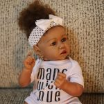 Full Silicone Reborn Baby Doll with Realistic African American (2)