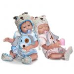 Reborn Twins Soft Silicone Reborn Baby Girl and Baby Boy (8)