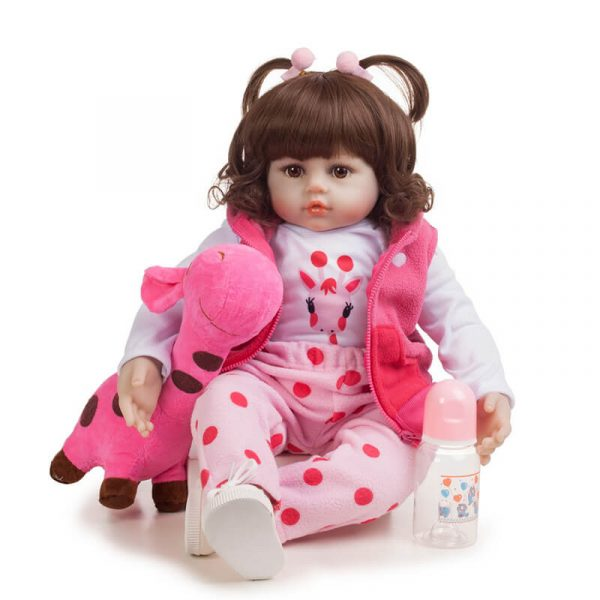 Toddle Reborn Baby Girl Full Body Silicone Baby Doll That Look Real